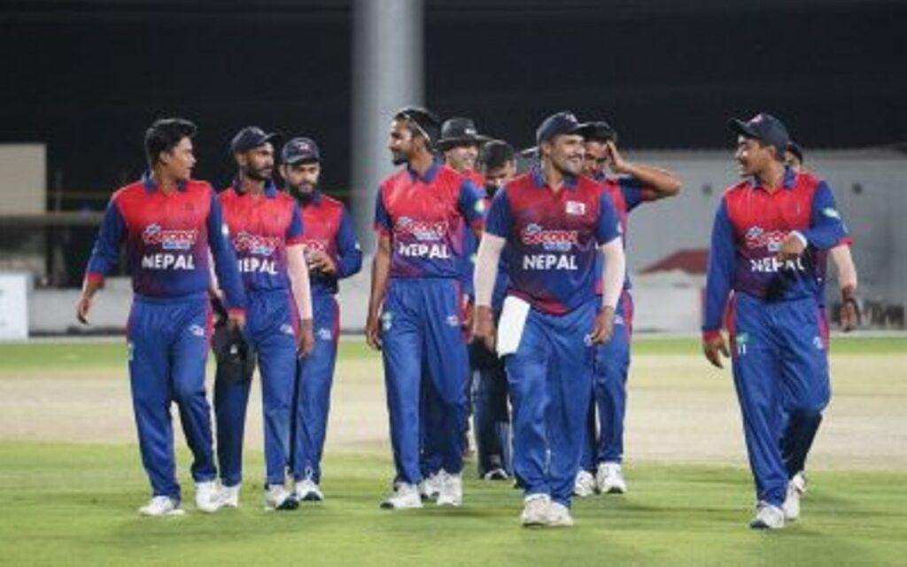 एक दिवसीय क्रिकेट श्रृङ्खलामा नेपाल र ओमान खेल्दै