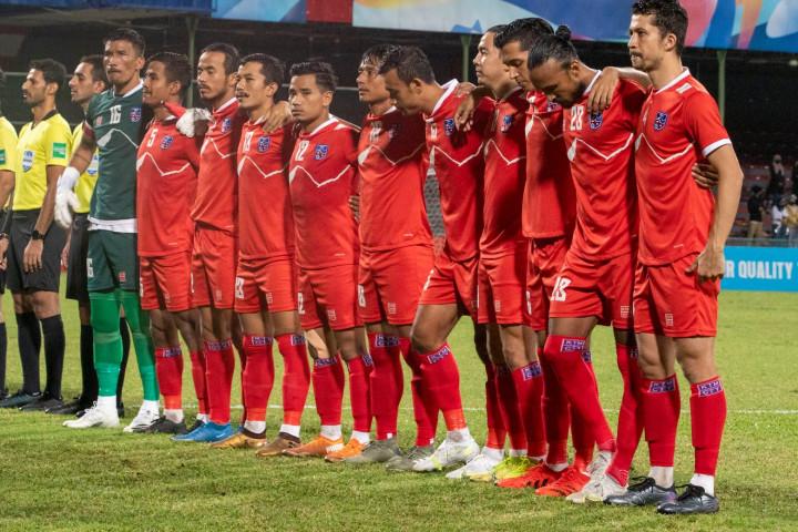 साफको उपविजेता नेपाली राष्ट्रिय फुटबल टोली आज स्वदेश फर्कदै