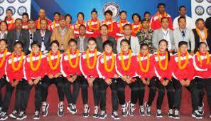 नेपाली २३ वर्षमुनिको फुटबल टोली ताजिकिस्तान प्रस्थान