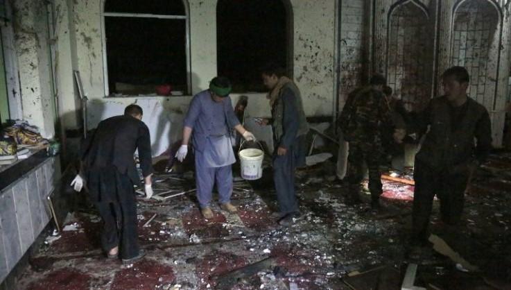 अफगानिस्तानको मस्जिदमा आत्मघाती आक्रमण